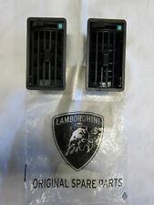 Lamborghini Countach interior dash, center console air vent pair