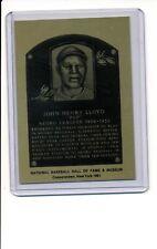 1981-89 HALL OF FAME METALLIC PLAQUE John Henry Pop Lloyd NR-MT Negro League