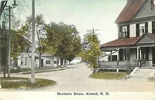 A View of the Homes on Mechanic Street, Alstead Nh 1909