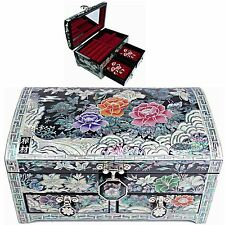 Jewelry Box Mother of Pearl Jewelry Organizer Jewelry Holder Craftsman 5203QB