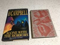 Bundle Walter de la mere Ghost Stories and Ramsey Campbell Alone with the Horror