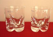 KROSNO GLASS x 2  - Corona Design - Whisky Water Tumbler 250 ml approx POLAND