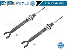 FOR MERCEDES E CLASS W211 S211 2 FRONT SHOCKERS SHOCK ABSORBERS MEYLE GERMANY