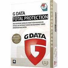 G Data Total Protection 2018 VOLLVERSION 1 PC GDATA Security (Upgrade 2017)