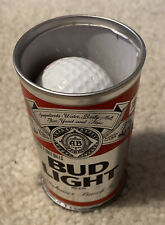 Vintage Collectible Can of Bud Light With 2 Golf Balls