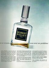 P- Publicité Advertising 1969 Parfum Robert Piguet