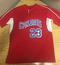 Brooklyn Cyclones Jersey Large Dodgers New York Mets Shirt Batting Practice