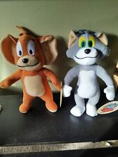 Tom and Jerry Plush Stuffed Animals new w/tags