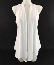 9e491c46d3096 NEW American Eagle Cardigan Wrap Cover Up Shawl Size Medium White Cotton