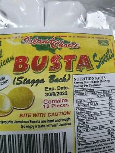 BUSTA SWEET REAL JAMAICAN STAGGA BACH PACK OF 10