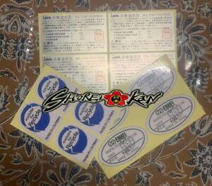 Decals Enkei Rim Sticker Spec Rp01, Rp02, Rpf1 or Other All Size
