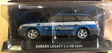 """DIE CAST """" SUBARU LEGACY 2.5 SW 2000 """" POLIZIA SCALA 1/43"""