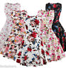 Plus Size Vintage Style 50s 60s Housewife Party Floral Swing Pinup Retro Dress
