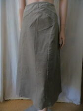 SUZANNE GRAE Lt Brown Corduroy Skirt Sz 12 BUY Any 5 Items = Free Post
