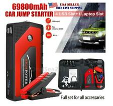 69800mAh 12V Car Jump Starter Portable USB Power Bank Battery Booster Clamp 600!