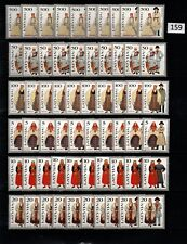 /// 10X LATVIA - MNH - NATIONAL EMBLEMS - 1993 - COSTUMES - CULTURE