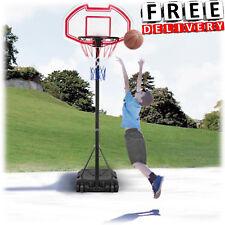 Basketball Hoop Portable Indoor Outdoor Backboard Wheels Kid Child Adjust System