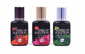 Speed up Solution for Eyelash Extensions - FASTER DRYING TIMES FOR GLUE - 15ml
