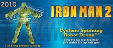 CYCLONE SPINNING ROBOT DRONE IRON MAN 2 movie BK Burger King/Marvel (2010) NIOP