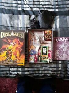 dungeonquest.games workshop.1987 complete.painted minis.some of cones missing .