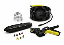 Kärcher 20m Pipe And Guttering Cleaning Kit - Pressure Washer Accessory