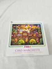 CEACO JIGSAW PUZZLE MAGICAL WORLD CARNIVALE PARADE CIRO MARCHETTI 750 PC #2994-7