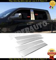 Stainless Steel Pillar Post Trim 4PC For Dodge Ram Regular Cab 2009-2015