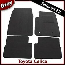 Toyota Celica Tailored Fitted Carpet Car Mats GREY (1999 2000...2004 2005 2006)
