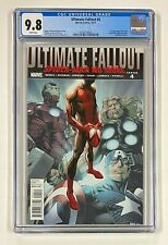 ULTIMATE FALLOUT #4 Marvel 2011 CGC 9.8 MILES MORALES Spider-Man 1st Appearance