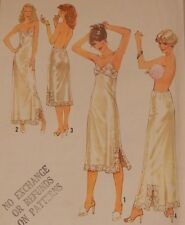 "8862 Simplicity Lingerie Pattern Full Half Slip Size 14 Bust 36"" Vintage Pattern"