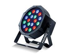 Marq Iluminación Colormax P18 LED par puede RGB 18 X 1W LED DJ Disco Iluminación Superior