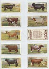 Full Set, Players, British Livestock 1915 VG+ (Gb1865-408)