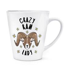 Crazy RAM Lady Stars 12 OZ (ca. 340.19 g) Latte Macchiato tazza-ANIMALE BUFFO