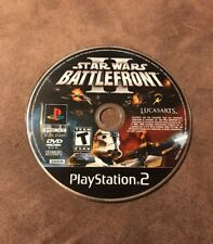 Star Wars Battlefront II Sony PlayStation 2 PS2 ~ Broken! As Is! ~ Not Working!