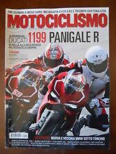 MOTOCICLISMO n°4 2013 Ducati 1199 Panigale KTM Duke 200 Moto Guzzi Califor [P29]