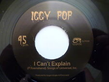 """IGGY POP 45 RPM 7"""" - I Can't Explain 2014 RE-ISSUE"""
