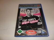 PLAYSTATION 2 PS 2 Tony Hawk 's American Wasteland [Platinum]