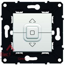 Interrupteur volet roulant Arnould Espace Evolution Blanc 64020