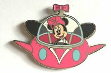Disney Pin Badge Minnie Mouse in Flying Saucer UFO Space Ship