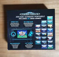 USED MEGA DRIVE ARCADE ULTIMATE PORTABLE MINT WORKING CONDITION (20 GAMES)