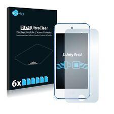 6x Savvies Displayschutzfolie für Apple iPod Touch 6. Generation Schutzfolie