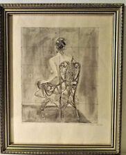 Ritter- Inkwash nude study 1986