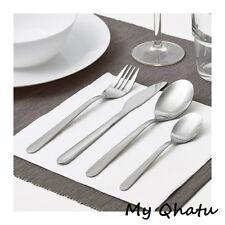 Ikea 32 pieces Stainless Steel flatware set silverware Knife fork spoon MOPSIG