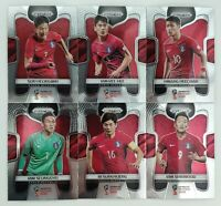 2018 Panini Prizm World Cup Soccer Korea Republic Team - Pick Your Card