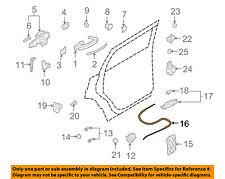 AUDI OEM 07-15 Q7 Rear Door Inside-Door Lock Cable 4L0839085B