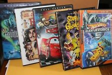 DVD Lot Kids Movies - Haunted Mansion CARS Hook SCOOBY DOO Hot Wheels