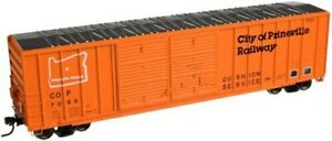 Atlas HO #20001945 City of Prineville RR (FMC 5077 DD Box Car Offset) Rd #7050