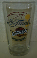 2 (two) - Cleveland Cavaliers 2016 NBA Champion Commemorative 16oz. Pint Glasses