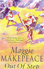 Out of Step by Maggie Makepeace (Paperback) New Book