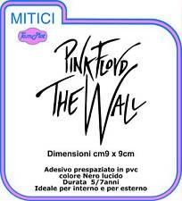 "PINK FLOYD ADESIVO ""THE WALL"" ADESIVO colore nero"